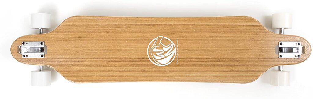 White Wave Bamboo Cruiser Longboard Skateboard Review