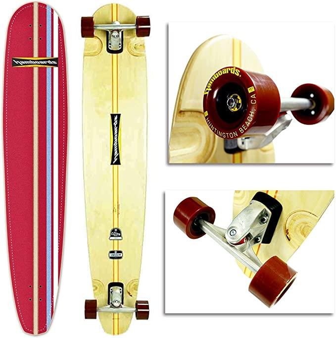 Hamboards Logger Expensive Longboard Surf Skateboard