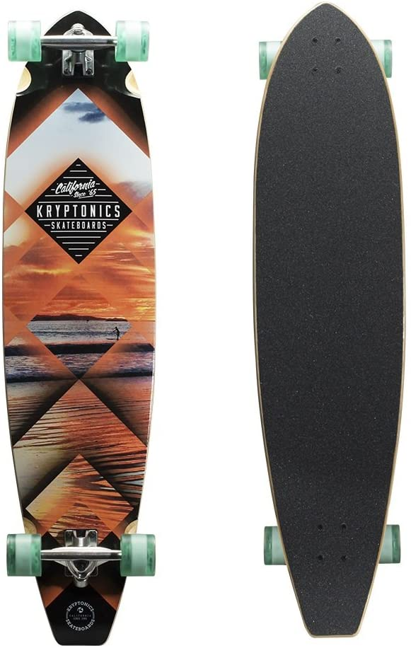 Kryptonics 44 Blocktail Longboard Skateboard