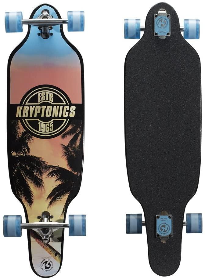 Kryptonics Drop-Through mini Longboard