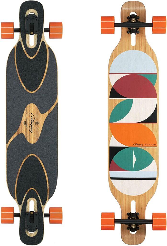 Loaded Board Dervish Sama Expensive Bamboo Longboard Skateboard
