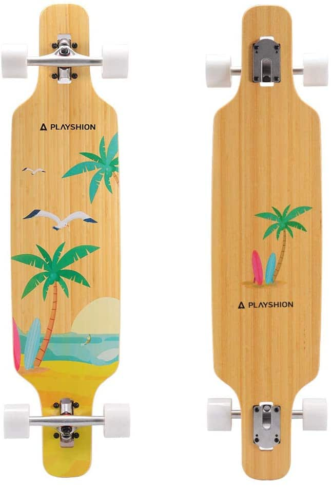 Playshion Drop Through 39 inch Longboard