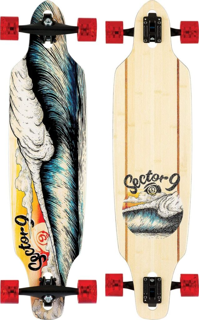 Sector 9 Unisex Macking Mini Lookout Expensive Longboard